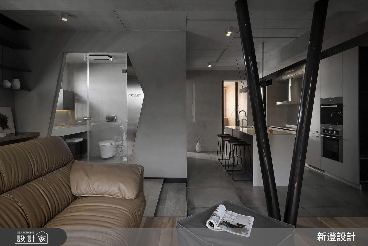 32坪老屋(16~30年)_現代風客廳案例圖片_新澄設計_新澄_34之4