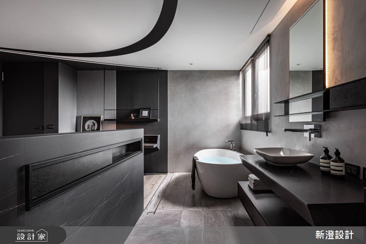 35坪新成屋(5年以下)_現代風浴室案例圖片_新澄設計_新澄_50之25