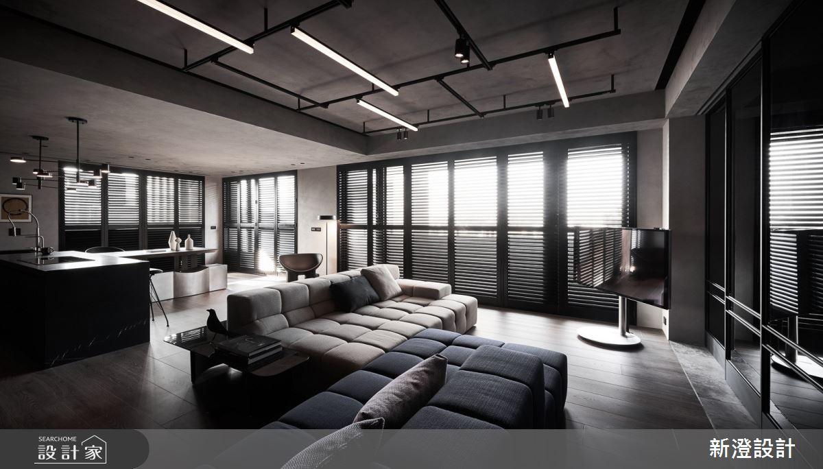35坪新成屋(5年以下)_現代風客廳案例圖片_新澄設計_新澄_50之4