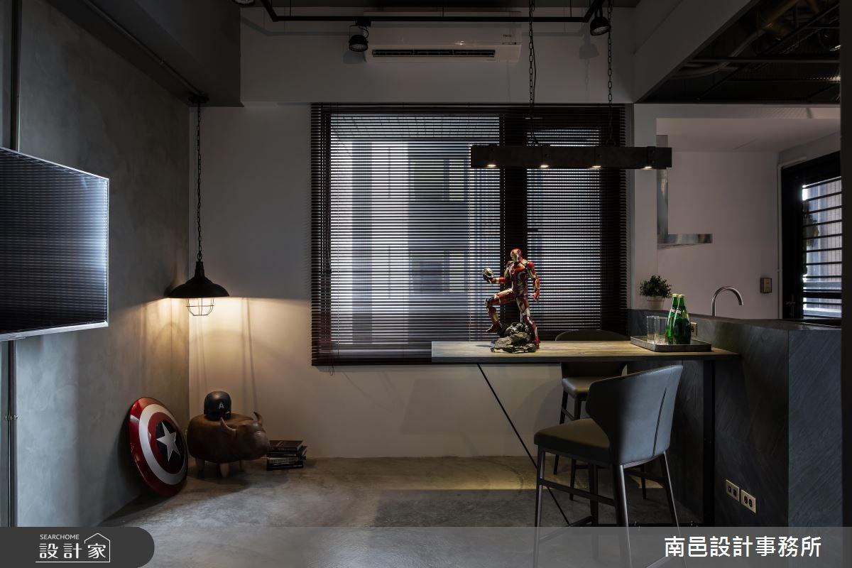 17坪新成屋(5年以下)_工業風餐廳案例圖片_南邑設計事務所_南邑_20之3