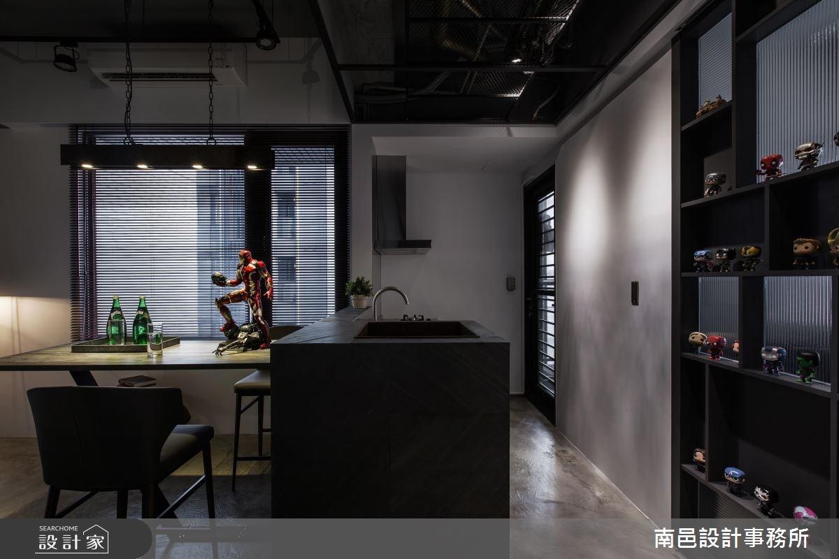 17坪新成屋(5年以下)_工業風餐廳案例圖片_南邑設計事務所_南邑_20之8