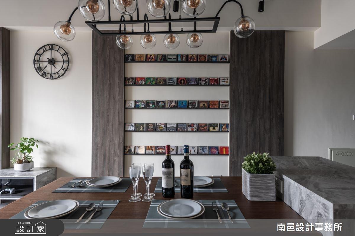 22坪新成屋(5年以下)_現代風餐廳案例圖片_南邑設計事務所_南邑_30之3