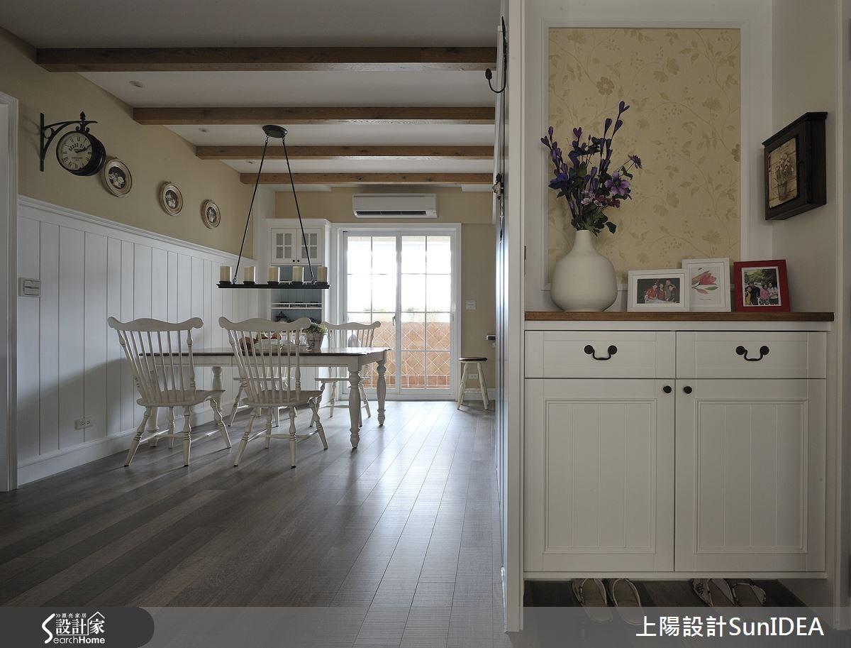 35坪老屋(16~30年)_鄉村風玄關餐廳案例圖片_上陽室內設計_上陽_13之9