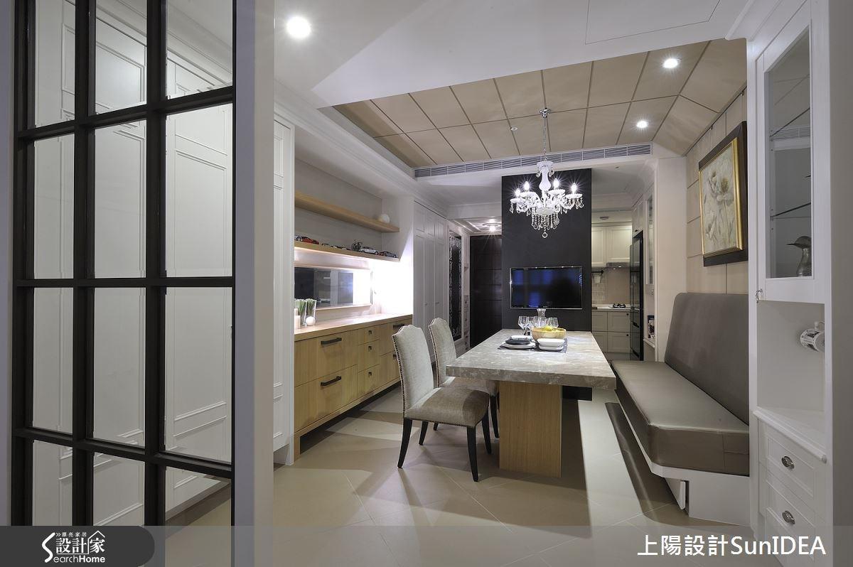 34坪新成屋(5年以下)_美式風餐廳案例圖片_上陽室內設計_上陽_14之3