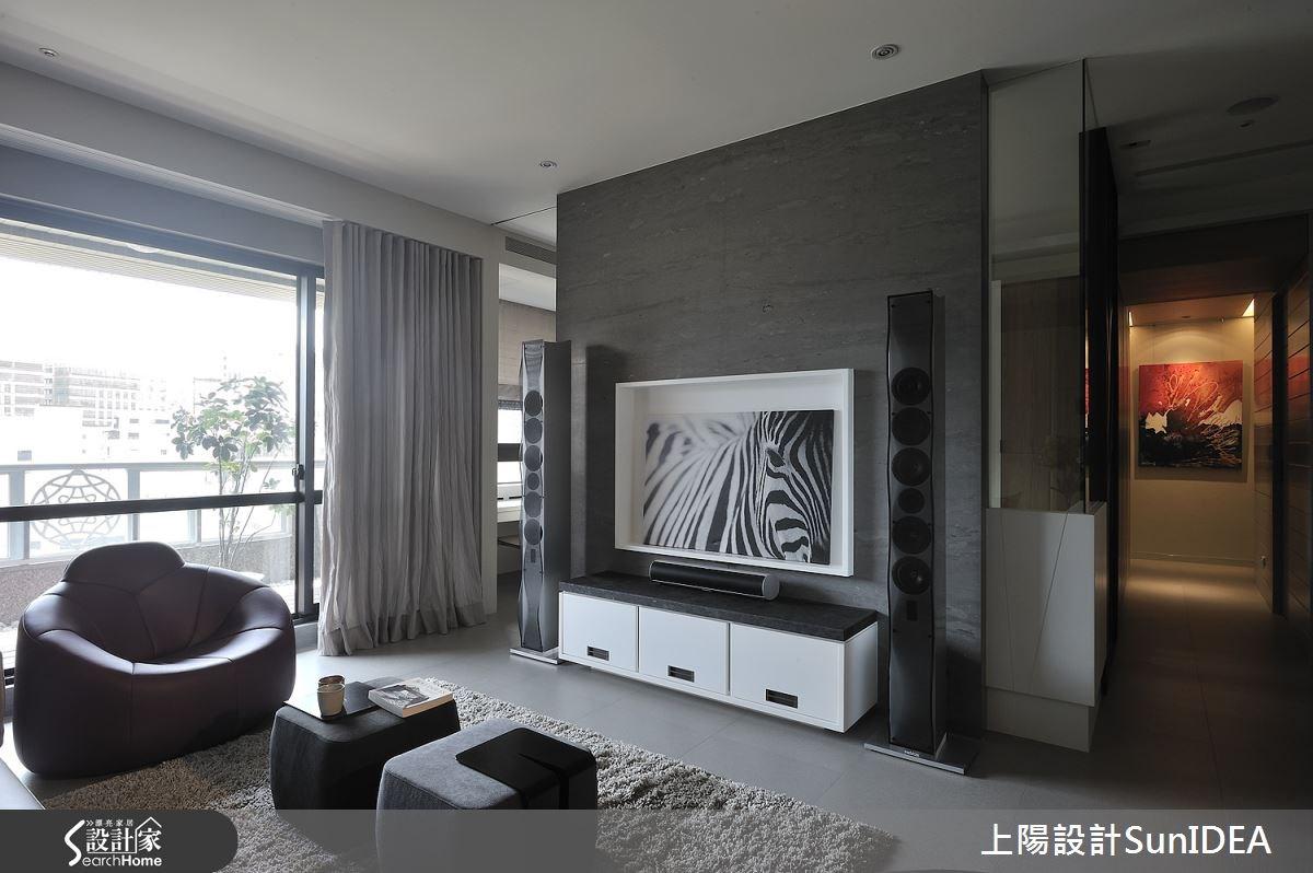 45坪新成屋(5年以下)_現代風客廳案例圖片_上陽室內設計_上陽_15之4