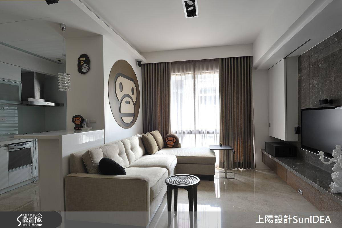 15坪新成屋(5年以下)_現代風客廳案例圖片_上陽室內設計_上陽_09之3