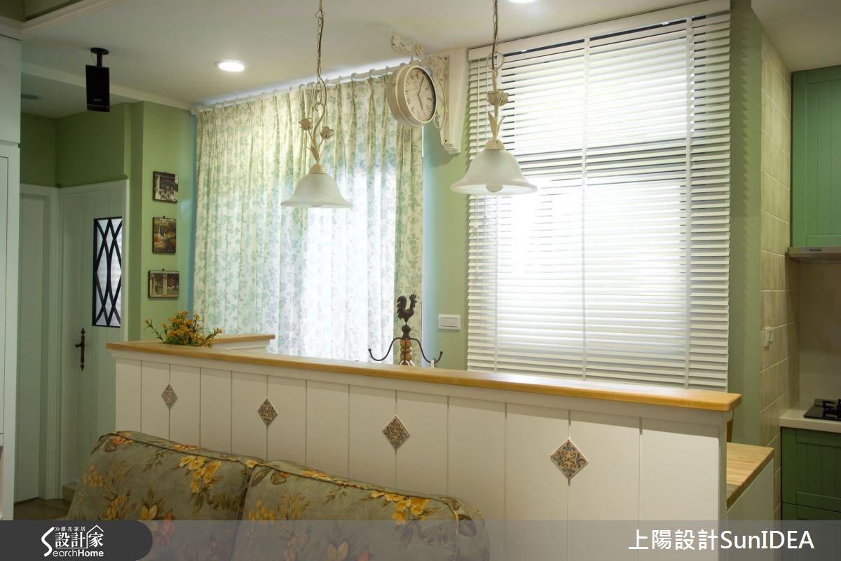 15坪新成屋(5年以下)_鄉村風客廳案例圖片_上陽室內設計_上陽_11之4