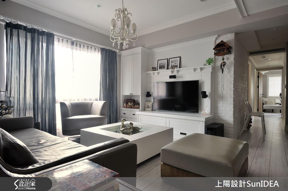 40坪預售屋_北歐風客廳案例圖片_上陽室內設計_上陽_12之3