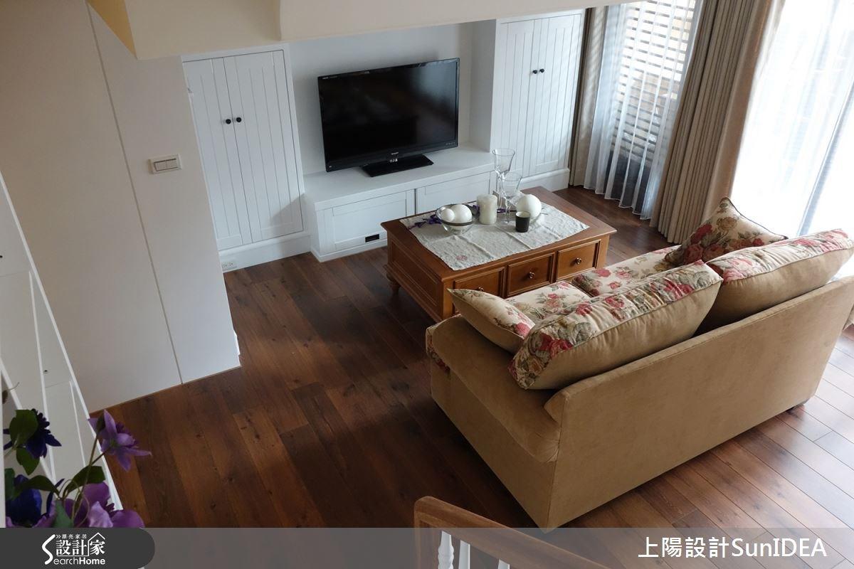 18坪新成屋(5年以下)_鄉村風客廳案例圖片_上陽室內設計_上陽_16之1