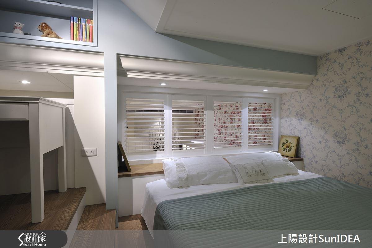 18坪新成屋(5年以下)_鄉村風臥室案例圖片_上陽室內設計_上陽_16之21