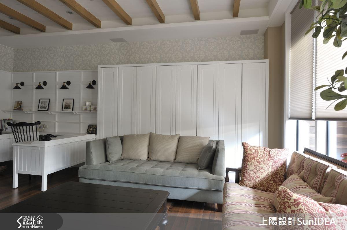 17坪新成屋(5年以下)_鄉村風客廳案例圖片_上陽室內設計_上陽_17之2
