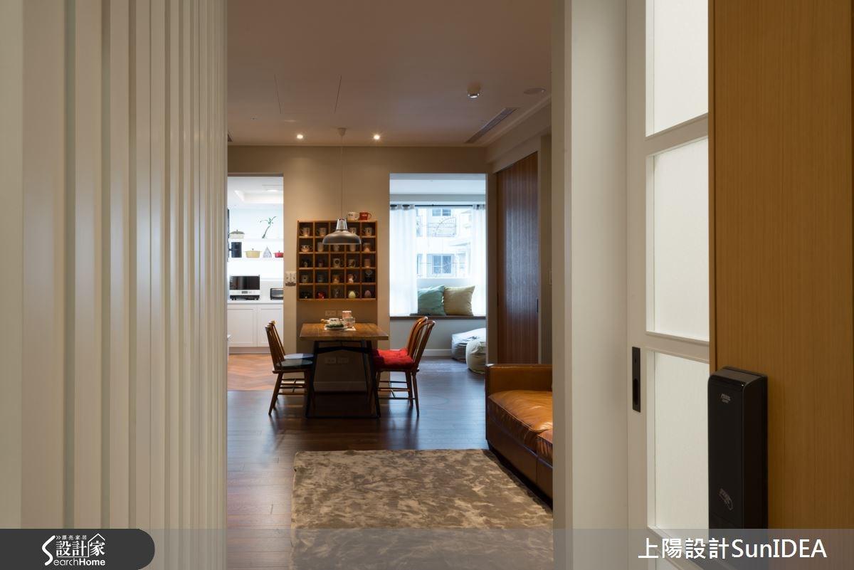 25坪新成屋(5年以下)_鄉村風餐廳走廊案例圖片_上陽室內設計_上陽_18之2