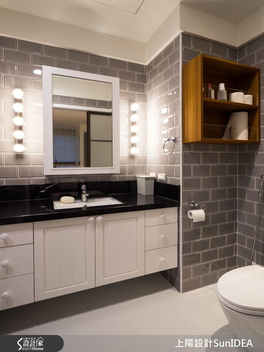 25坪新成屋(5年以下)_鄉村風浴室案例圖片_上陽室內設計_上陽_18之26