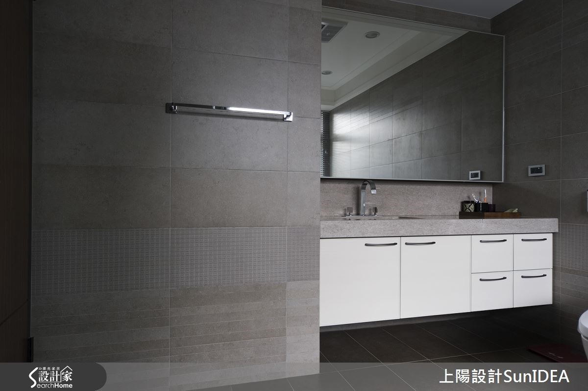 60坪預售屋_現代風浴室案例圖片_上陽室內設計_上陽_19之21