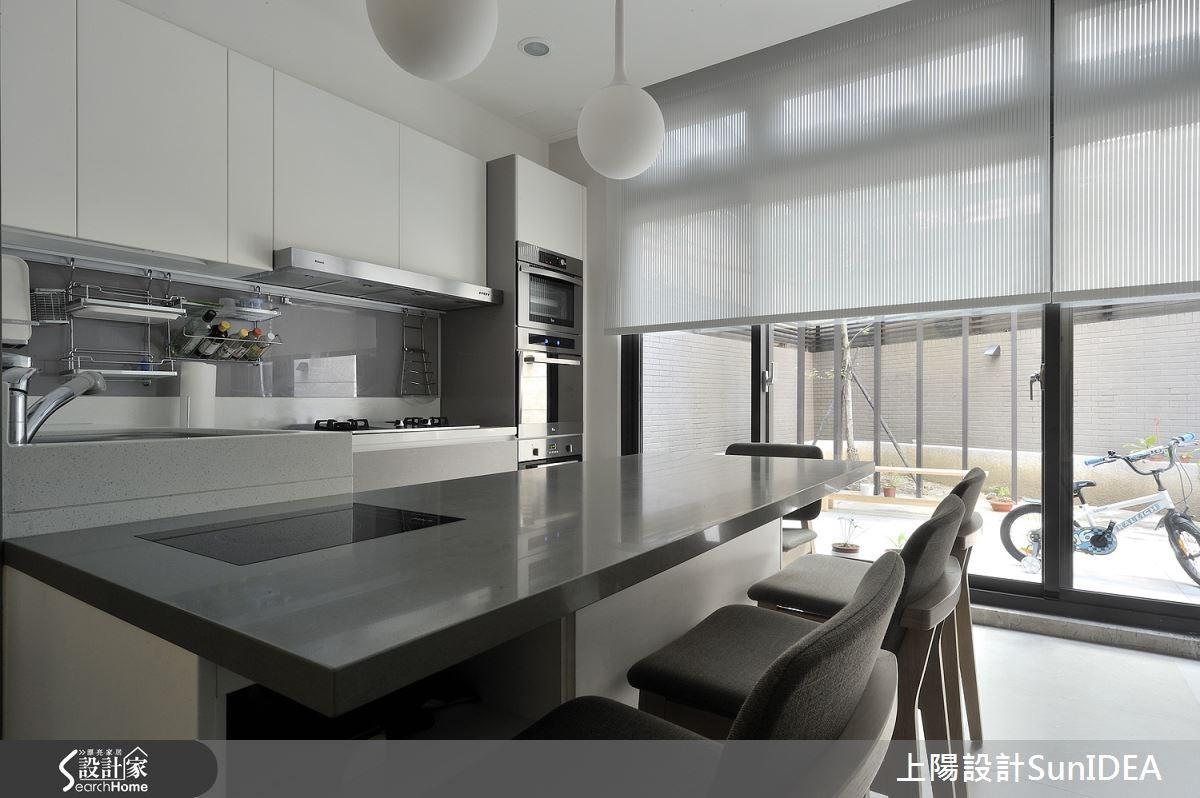 28坪新成屋(5年以下)_現代風吧檯案例圖片_上陽室內設計_上陽_20之3