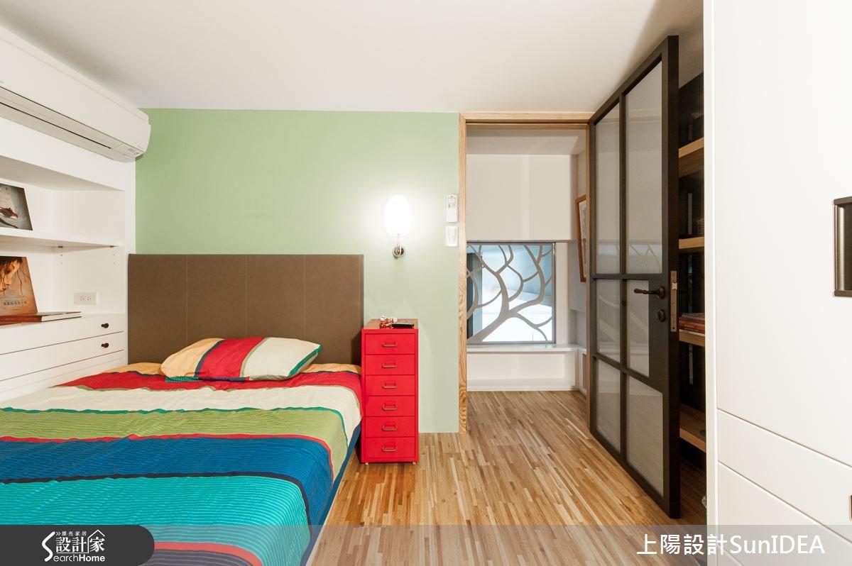 28坪新成屋(5年以下)_現代風臥室案例圖片_上陽室內設計_上陽_20之16