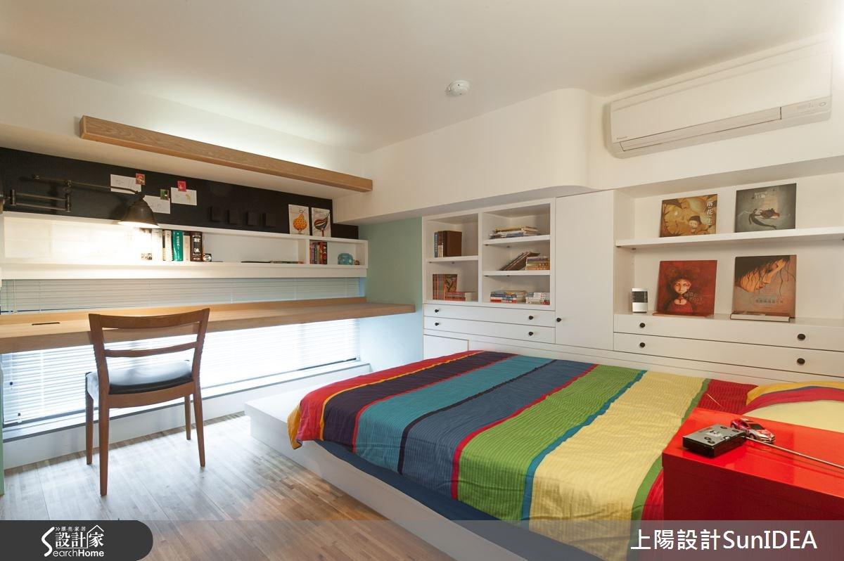 28坪新成屋(5年以下)_現代風臥室案例圖片_上陽室內設計_上陽_20之18