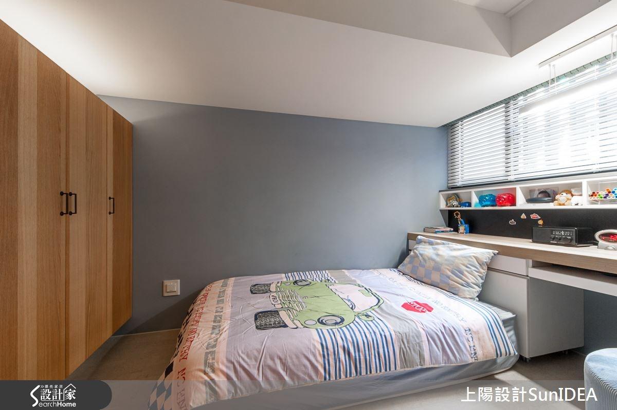28坪新成屋(5年以下)_現代風臥室案例圖片_上陽室內設計_上陽_20之20