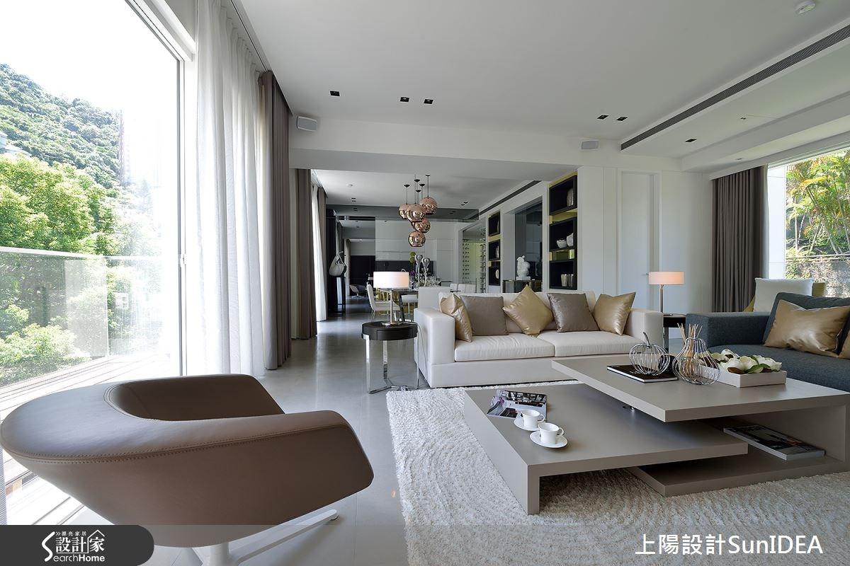 65坪新成屋(5年以下)_現代風客廳案例圖片_上陽室內設計_上陽_26之1