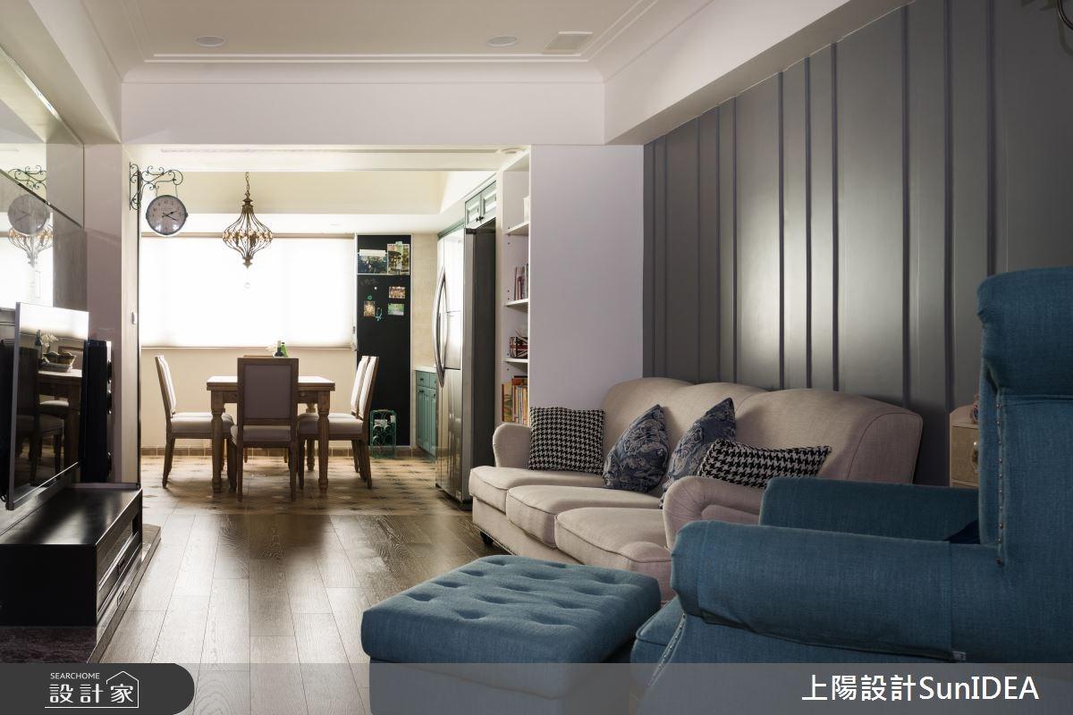 23坪老屋(16~30年)_美式風案例圖片_上陽室內設計_上陽_30之2
