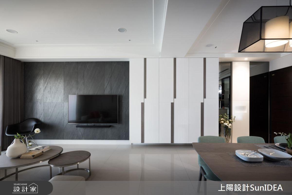38坪新成屋(5年以下)_現代風客廳餐廳案例圖片_上陽室內設計_上陽_31之2