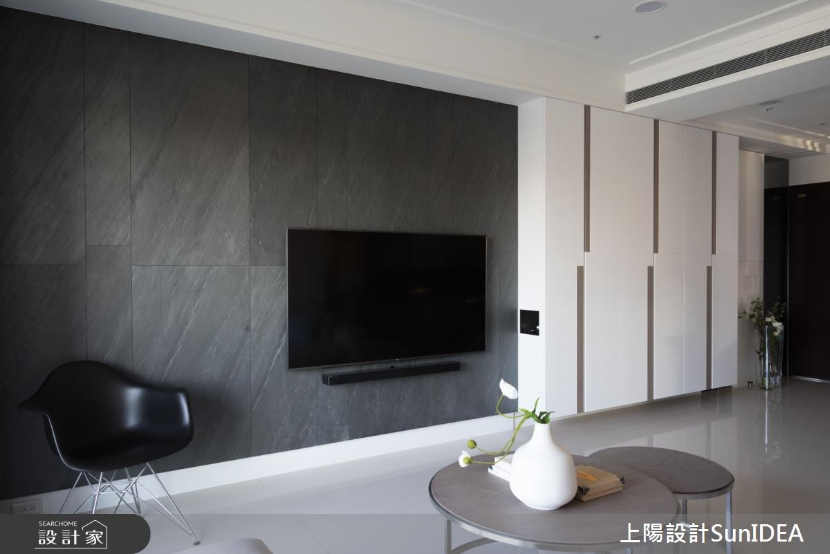 38坪新成屋(5年以下)_現代風客廳案例圖片_上陽室內設計_上陽_31之3