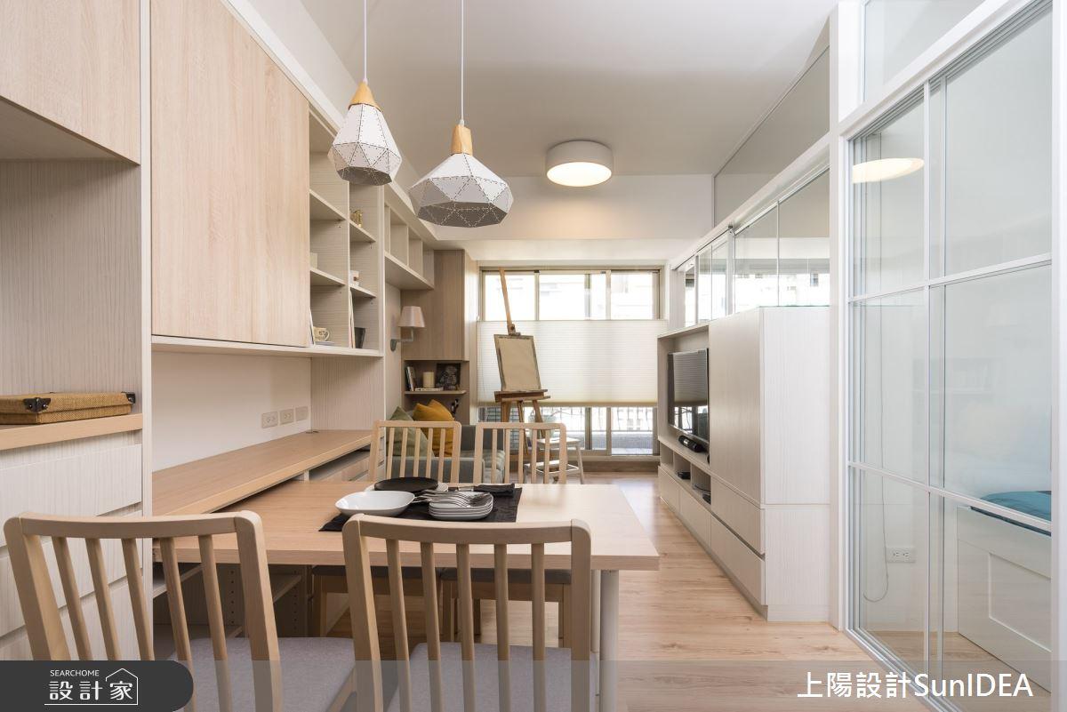 12坪中古屋(5~15年)_日式無印風餐廳案例圖片_上陽室內設計_上陽_33之2