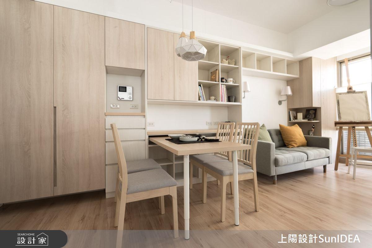 12坪中古屋(5~15年)_日式無印風餐廳案例圖片_上陽室內設計_上陽_33之3