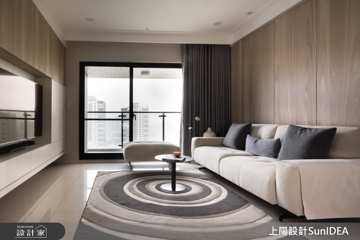 19坪新成屋(5年以下)_現代風客廳案例圖片_上陽室內設計_上陽_34之3