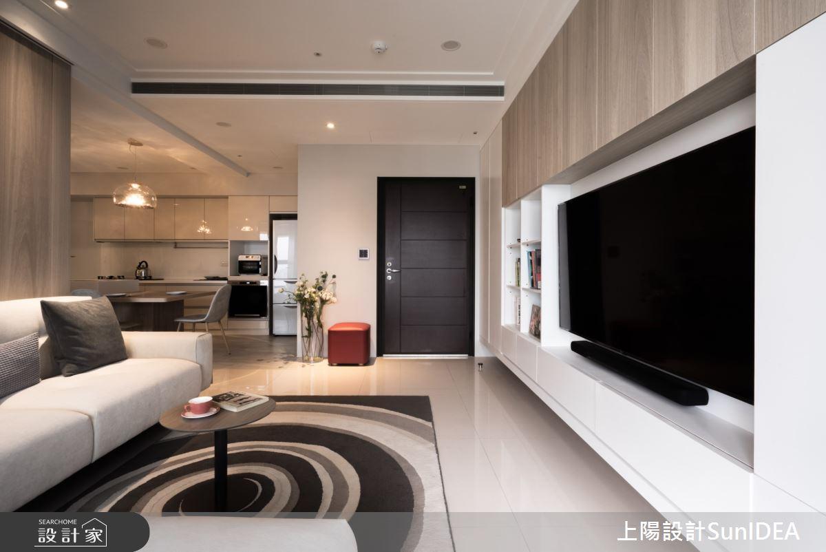 19坪新成屋(5年以下)_現代風客廳案例圖片_上陽室內設計_上陽_34之4
