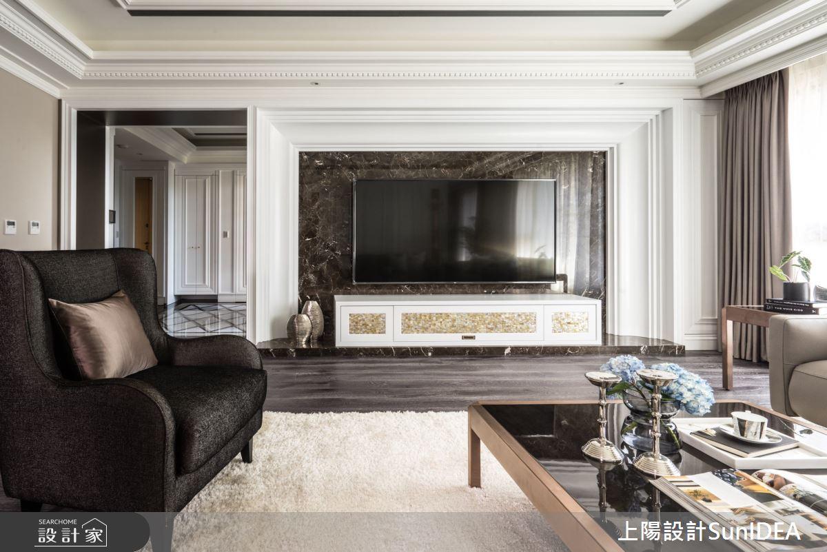70坪新成屋(5年以下)_新古典客廳案例圖片_上陽室內設計_上陽_35之4