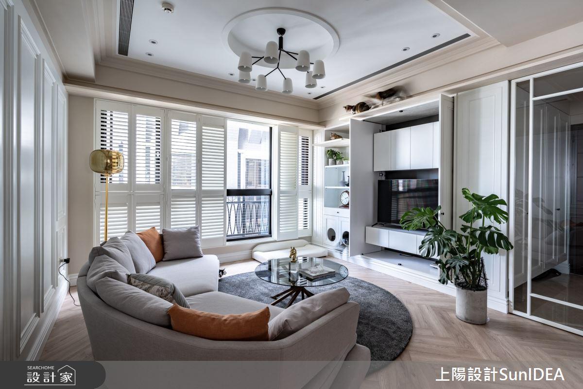 35坪新成屋(5年以下)_美式風案例圖片_上陽室內設計_上陽_36之4