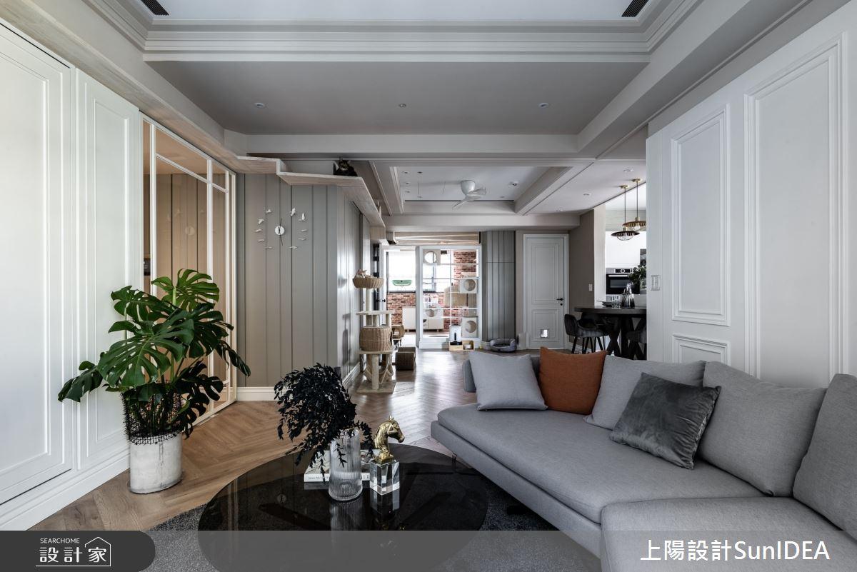 35坪新成屋(5年以下)_美式風案例圖片_上陽室內設計_上陽_36之5