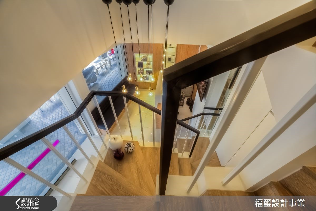 50坪中古屋(5~15年)_現代風樓梯案例圖片_福璽設計事業_福璽_04之3