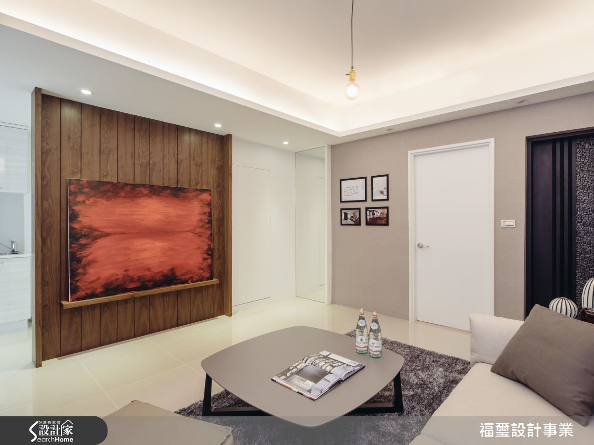 25坪也能擁有大小客廳!讓生活更有品味的美型居宅