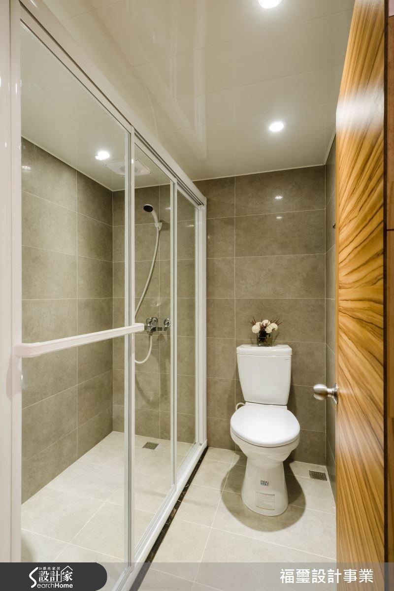 10坪中古屋(5~15年)_現代風浴室案例圖片_福璽設計事業_福璽_11之10