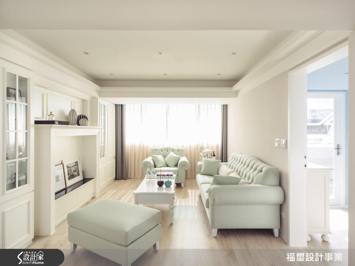 一起浪漫過生活! 超唯美的 30 坪純白系鄉村宅