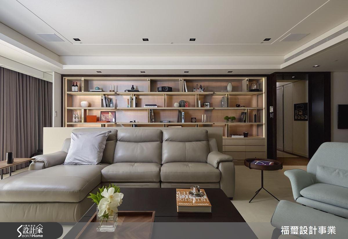 150坪新成屋(5年以下)_現代風客廳案例圖片_福璽設計事業_福璽_13之5