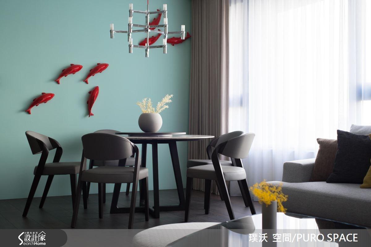 50坪新成屋(5年以下)_新中式風餐廳案例圖片_璞沃 空間/PURO SPACE_璞沃_05之13
