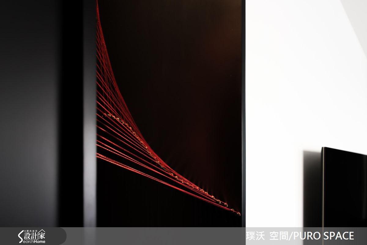 50坪新成屋(5年以下)_新中式風玄關案例圖片_璞沃 空間/PURO SPACE_璞沃_05之16