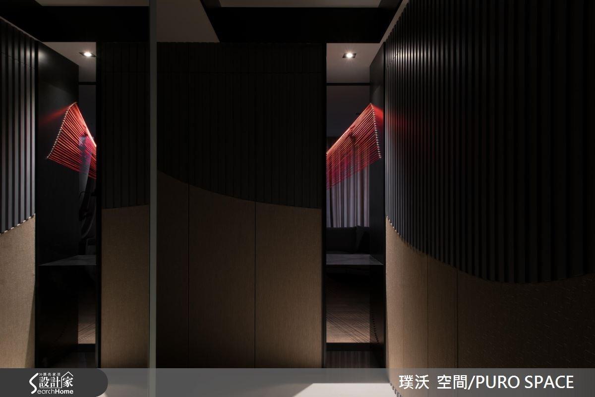50坪新成屋(5年以下)_新中式風玄關案例圖片_璞沃 空間/PURO SPACE_璞沃_05之18