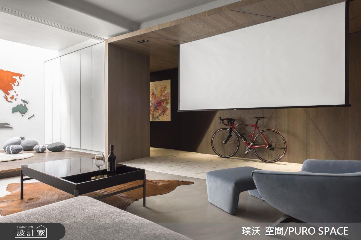 家庭歌劇院X暖陽和室X單車日記 老屋再造極品單身男子宅!