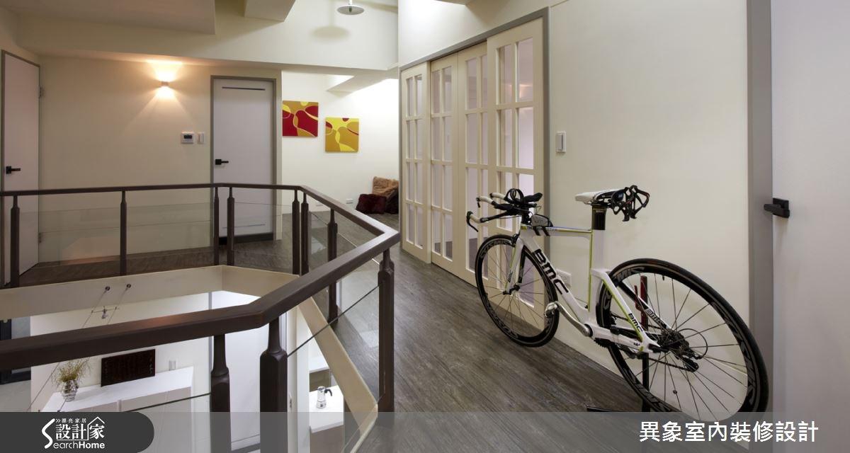 35坪新成屋(5年以下)_混搭風走廊案例圖片_異象室內裝修設計有限公司_異象_01之10