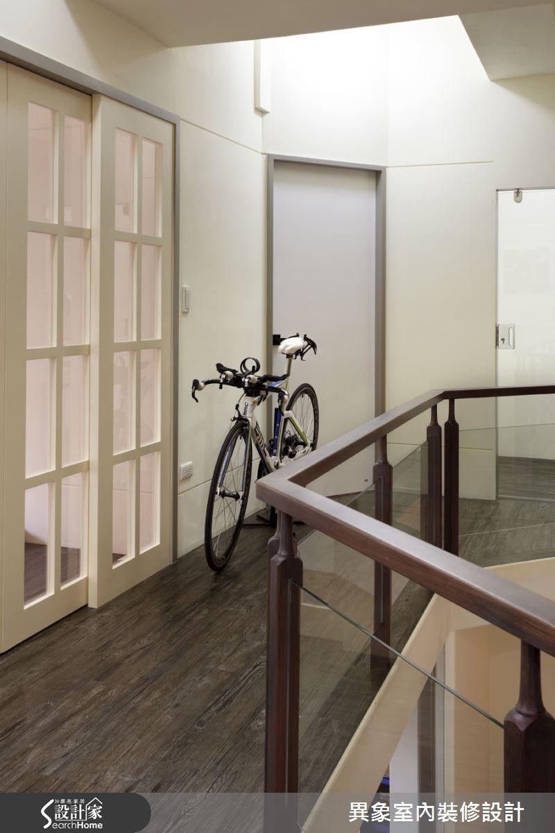 35坪新成屋(5年以下)_混搭風走廊案例圖片_異象室內裝修設計有限公司_異象_01之11