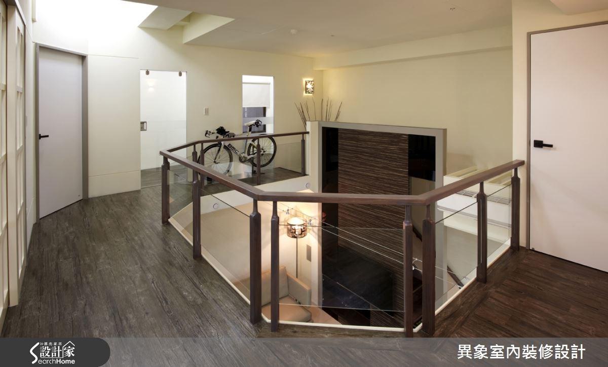 35坪新成屋(5年以下)_混搭風走廊案例圖片_異象室內裝修設計有限公司_異象_01之12