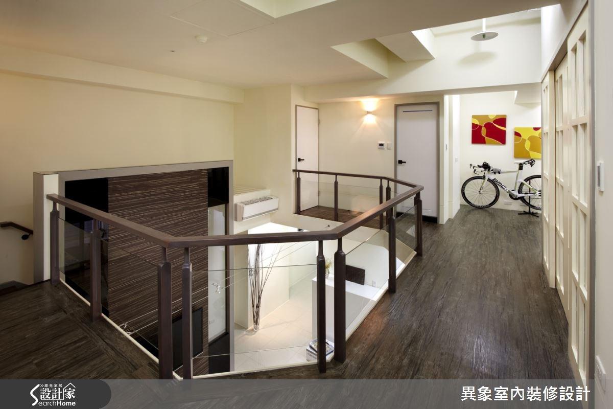 35坪新成屋(5年以下)_混搭風走廊案例圖片_異象室內裝修設計有限公司_異象_01之13