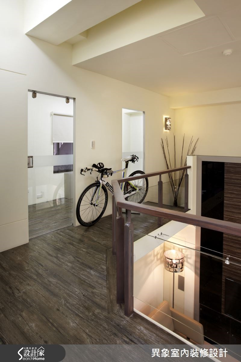 35坪新成屋(5年以下)_混搭風走廊案例圖片_異象室內裝修設計有限公司_異象_01之14