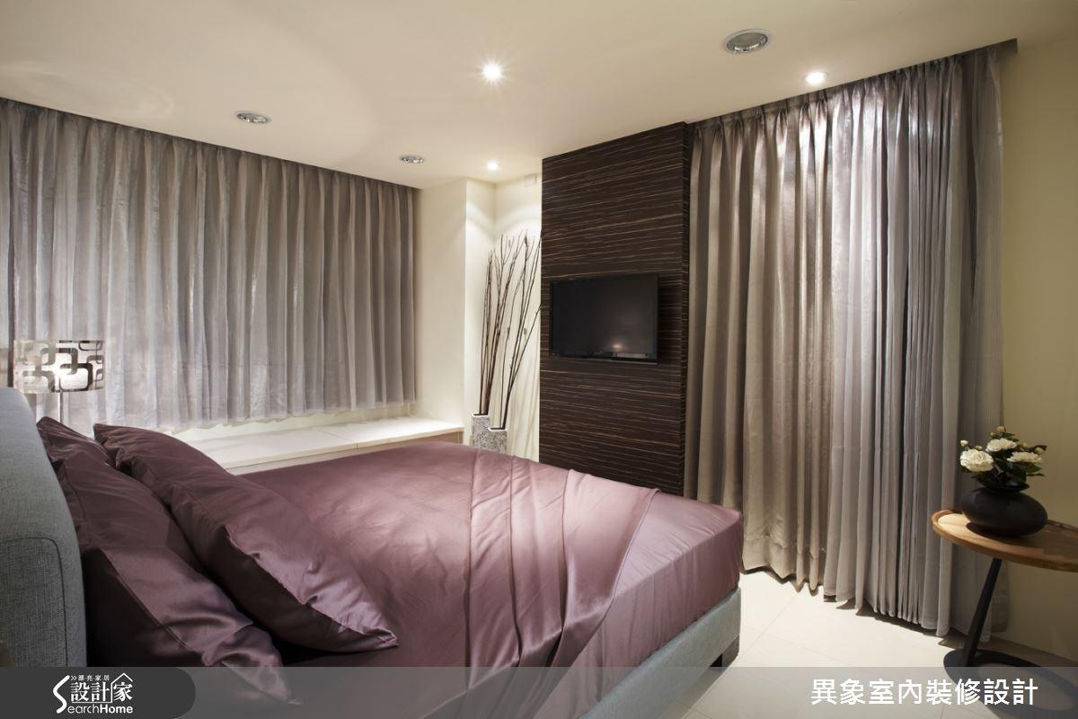 35坪新成屋(5年以下)_混搭風臥室案例圖片_異象室內裝修設計有限公司_異象_01之15