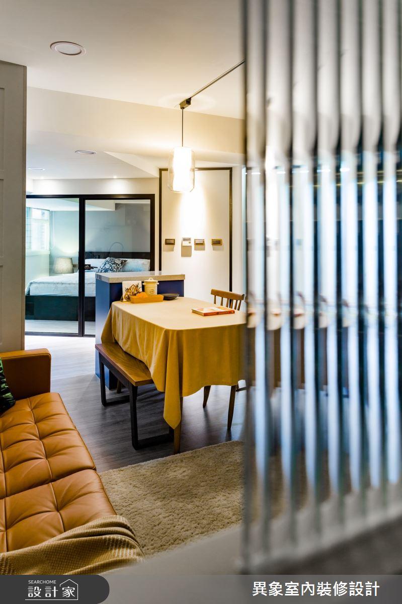 老屋(31~40年)_現代風客廳案例圖片_異象室內裝修設計有限公司_異象_07之9