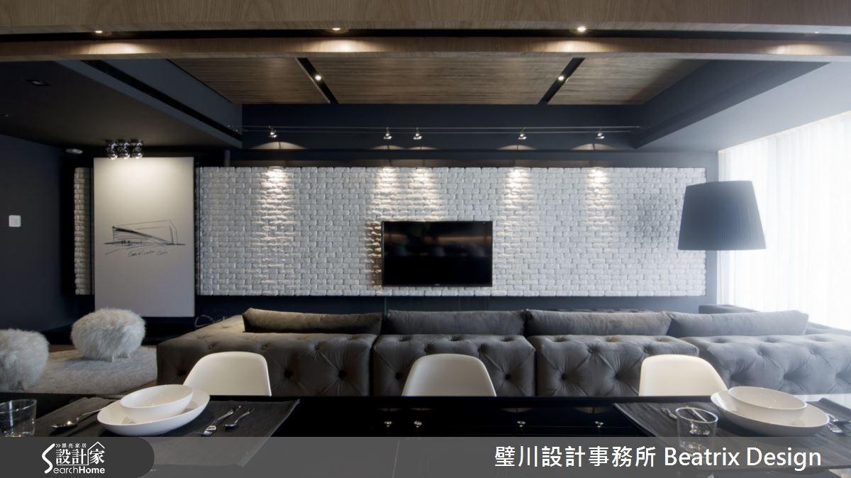 50坪新成屋(5年以下)_現代風客廳餐廳案例圖片_璧川設計事務所 Beatrix Design_璧川_隱線之4
